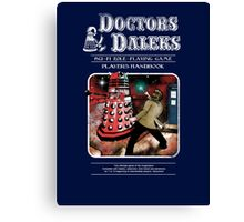 Doctors & Daleks Canvas Print