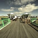 The pier at St Annes on sea  by Rob Hawkins