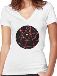 Connection 2 Women's Fitted V-Neck T-Shirt