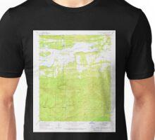 USGS TOPO Map Arkansas AR Blue Mountain Dam 258005 1966 24000 Unisex T-Shirt