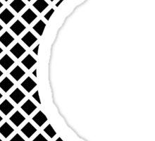 C Black Squares Sticker