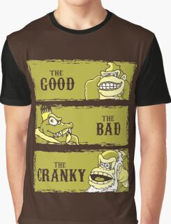 The Good, the Bad and the Cranky Graphic T-Shirt