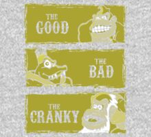The Good, the Bad and the Cranky One Piece - Short Sleeve