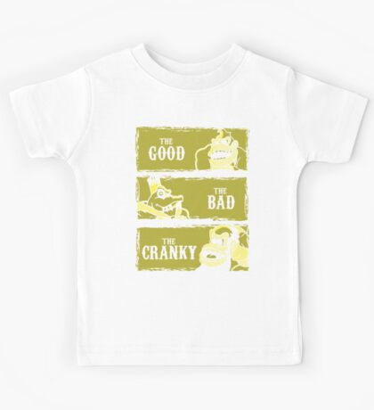 The Good, the Bad and the Cranky Kids Tee