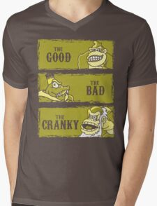 The Good, the Bad and the Cranky Mens V-Neck T-Shirt