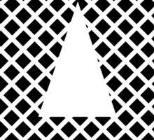 A Black Squares Sticker
