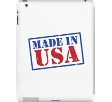 Made In The USA iPad Case/Skin
