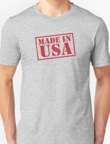 Made In The USA Red T-Shirt