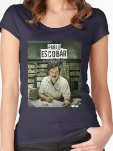Narcos Shirt New Design Women's Fitted Scoop T-Shirt