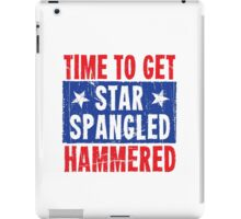 Time To Get Star Spangled Hammered iPad Case/Skin