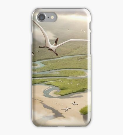 Tapejarid pterosaurs of the Santana iPhone Case/Skin