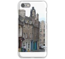 Candlemaker Row, from Greyfriar's Bobby iPhone Case/Skin