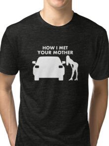 How I Met Your Mother T-shirts And Stickers Tri-blend T-Shirt