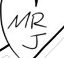 Mr J Sticker