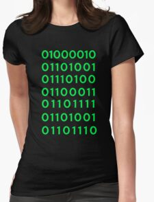 BINARY Womens Fitted T-Shirt