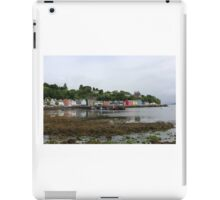 A view over Tobermory iPad Case/Skin