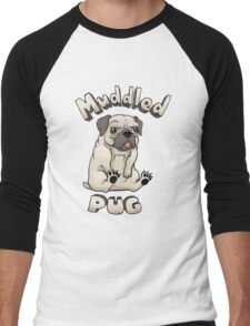 Muddled Pug Men's Baseball ¾ T-Shirt
