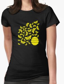 Bad Bees Womens Fitted T-Shirt