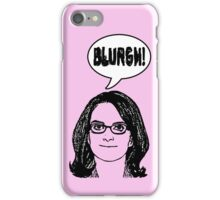 Blurgh! iPhone Case/Skin