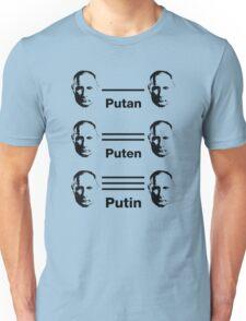 Putan, Puten, Putin. Chemistry Joke T-shirt Unisex T-Shirt