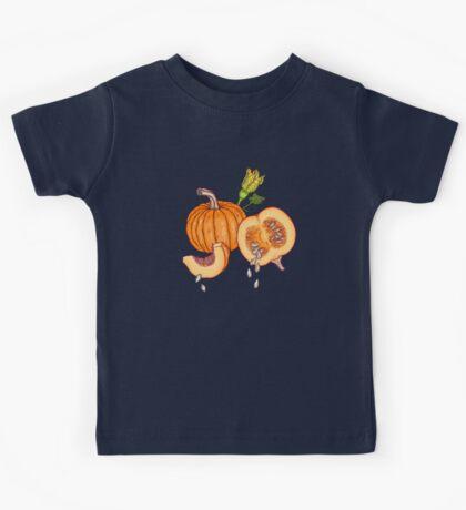 Pumpkin night life pattern Kids Clothes
