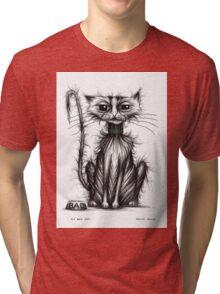 My bad cat Tri-blend T-Shirt