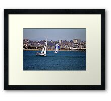 Catching Some Wind Framed Print