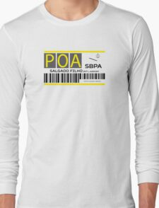 Destination Porto Alegre Airport Long Sleeve T-Shirt
