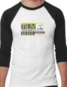 Destination Tel Aviv Airport Men's Baseball ¾ T-Shirt