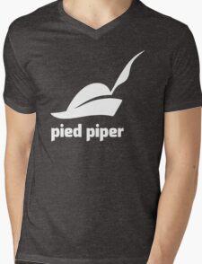 PIED PIPER Mens V-Neck T-Shirt