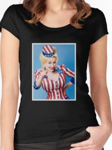 Parton Wants You Women's Fitted Scoop T-Shirt