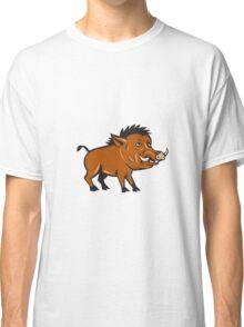 Razorback Side Cartoon Classic T-Shirt