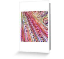 Seashells #DeepDream Greeting Card