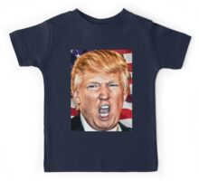 Donald Trump Make America Great Again USA President Candidate 2016 Kids Tee