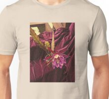 Velvetized Cactus Flower - Epiphyllum Midnight Unisex T-Shirt