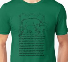 Medieval Bestiary monster Unisex T-Shirt