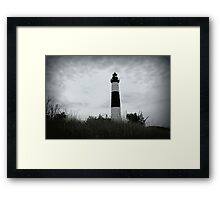 Cloudy Big Sable Light Framed Print