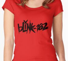 blink 182 Women's Fitted Scoop T-Shirt