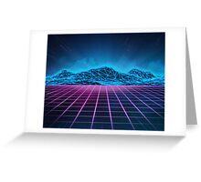 Sci-fi space Greeting Card