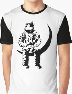 Angels and moon Graphic T-Shirt