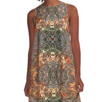 Kaleidoscope - Tree Series Autumnal A-Line Dress