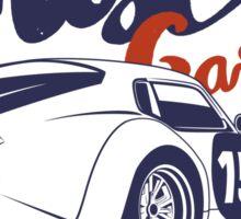 Muscle garage. Shelby Cobra Daytona Sticker