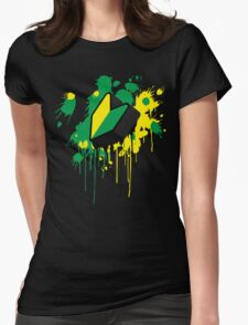 Wakaba 3D Womens Fitted T-Shirt