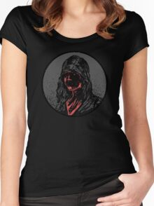 Bad face Women's Fitted Scoop T-Shirt