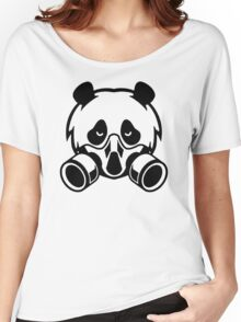 gas mask blood Women's Relaxed Fit T-Shirt