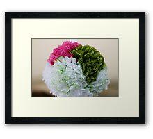 paper flowers Framed Print