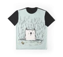Soggy Cat Graphic T-Shirt