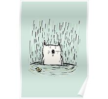 Soggy Cat Poster