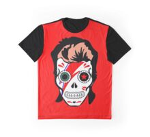 Bow-Skull Graphic T-Shirt