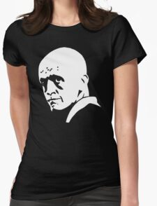 legend face stencil Womens Fitted T-Shirt